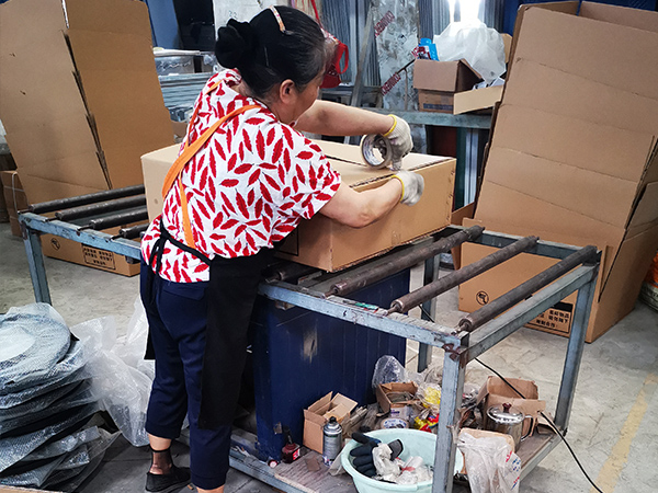 久盛鑫:产品打包