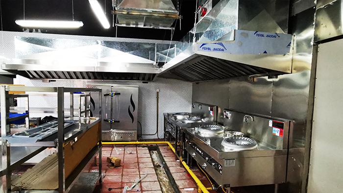 久盛鑫食堂厨房改造